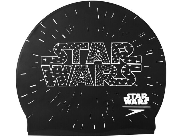 speedo Star Wars Slogan Cap Junior Black/White